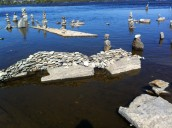 I just thought this bridge was cool - Remic Rock art - Sept. 2013