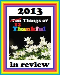 Ten Things In Review