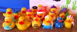 Strike a pose.  Quack Quack.