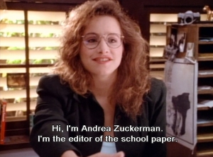 Pretty much me.  Despite secret desire to actually be Brenda Walsh... Photo from here: http://90210stupid.tumblr.com/image/78043685339