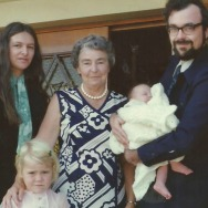 My baptism - 1977