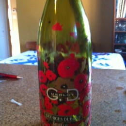 Use to work for Veterans Affairs and won this bottle at a fundraiser. LOVE IT.
