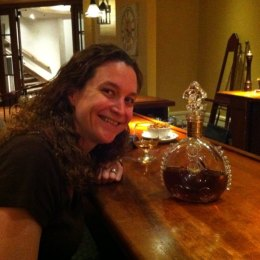 Me, hanging with Louis XIII