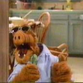 Alf Rockin' - Image from here: http://www.tvshows.de/alf/images/alfcuc03.jpg