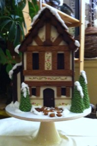 Gingerbread House by Catherine Beddall