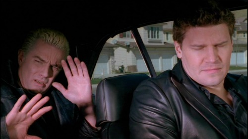 Angel and Spike to the rescue! Image from here: http://buffy.wikia.com/wiki/Underneath