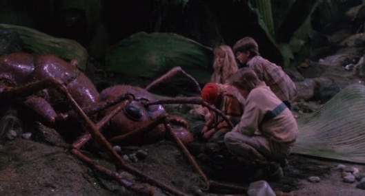 Honey I Shrunk the Kids - 1989. In the world of ant irony I watched this a few weeks ago with the kids. Still didn't cry when the ant died. Image links to source.