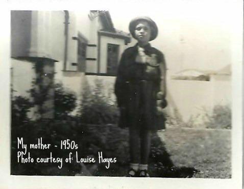 Mom Guiding 1950s