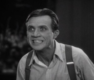 Dwight Frye as Renfield in Dracula (1931) - Photo from Wikipedia, links to source.