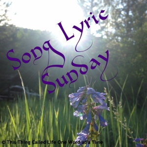 song_lyric_sunday